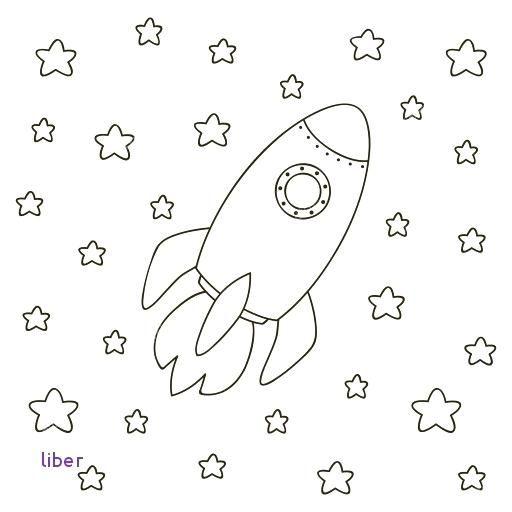Cohete Para Colorear Para Para Vector Stock Dibujos Cohetes