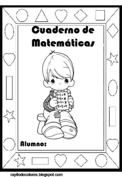 Portadas Para Cuadernos Infantiles