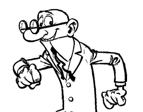 Dibujos Para Colorear Mortadelo Y Filemon 5