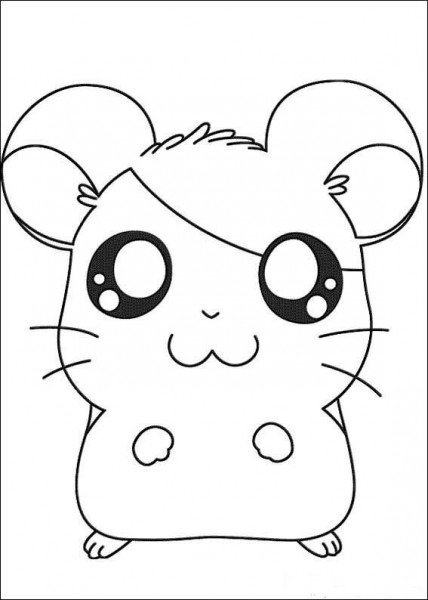 Hamtaro Coloring Pages For Kids  Printable  Online Coloring  18