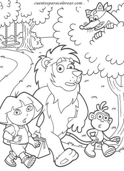 Dibujos Para Colorear Ni Os De 7 A Os
