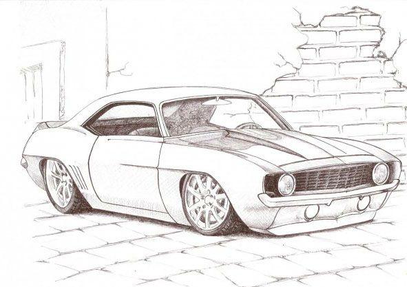Dibujos De Autos Tuning Bellos
