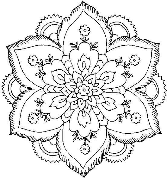 Mandalas Para Colorear, Juegos De Pintar Mandalas