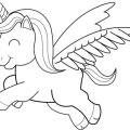 Unicornio Animado Para Colorear