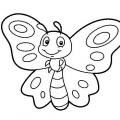 Dibujos Infantiles Para Colorear Mariposas