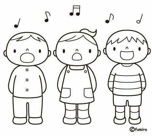 Cantant (blanc I Negre)