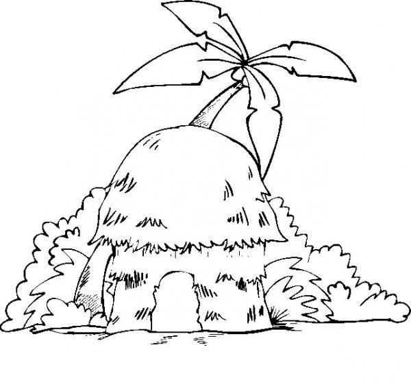 Hus Målarbilder För Barn  Teckningar Online Till Skriv Ut  Nº 15
