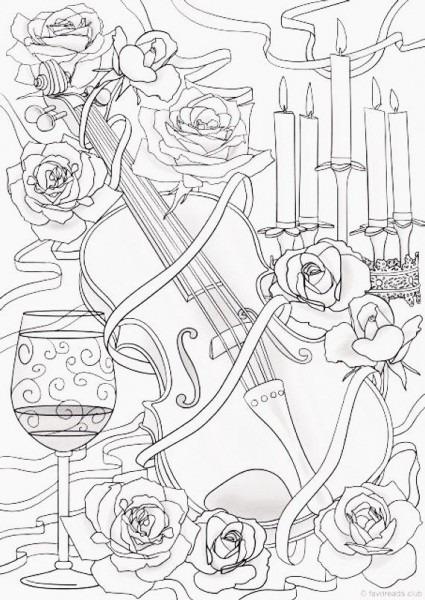 Dibujos Varios Para Colorear