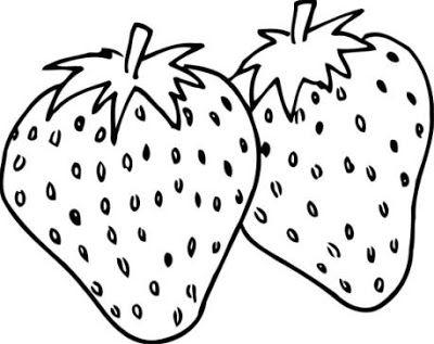 Dibujos Alimentos Fotos Imagenes   Fotos De Fresas