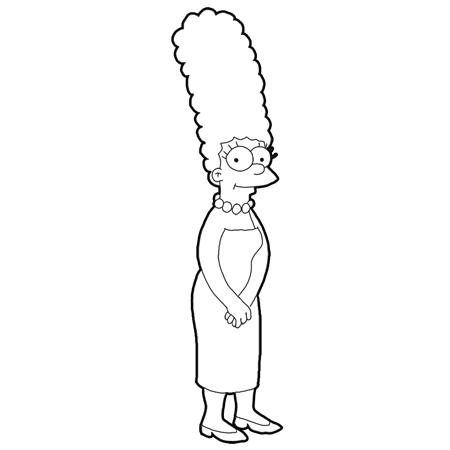 Výsledek Obrázku Pro Simpson Marge