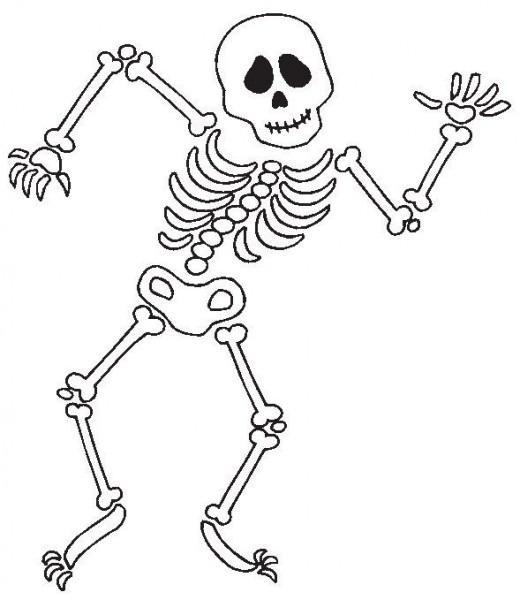 Dibujos De Calaveras Para Colorear En Halloween