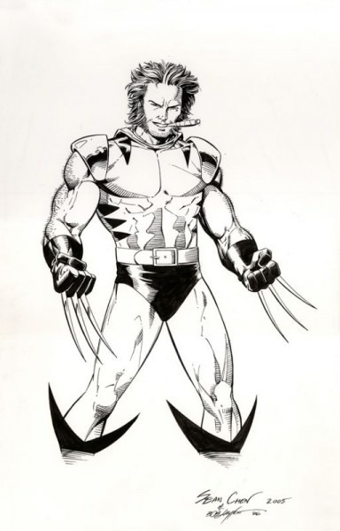 Wolverine By Sean Chen