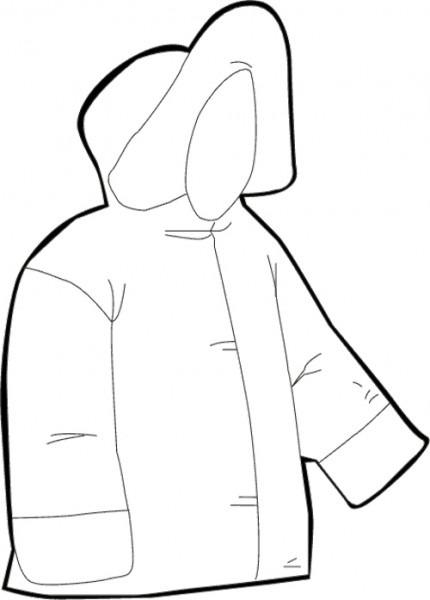 De Abrigos Dibujos Para Ropa Los Colorear Qdgtzux
