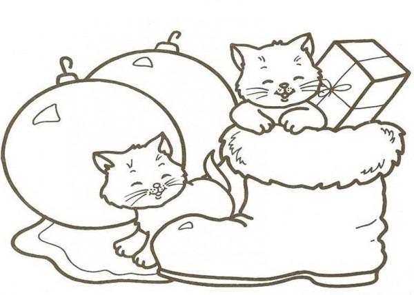 Dibujos De Adornos De Navidad Para Colorear