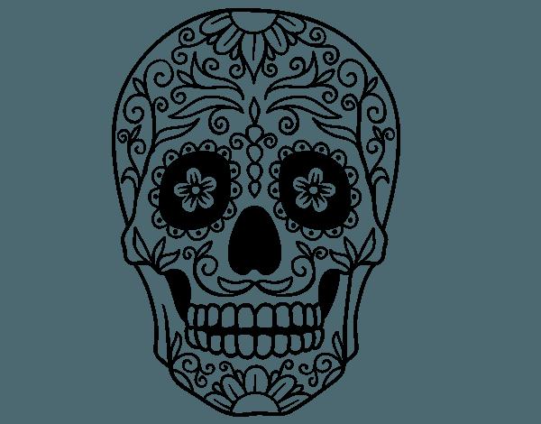 Imágenes De Calaveras Mexicanas Para Pintar