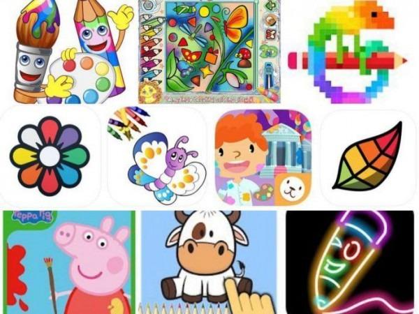 15 Aplicaciones Para Aprender A Colorear En La Tableta