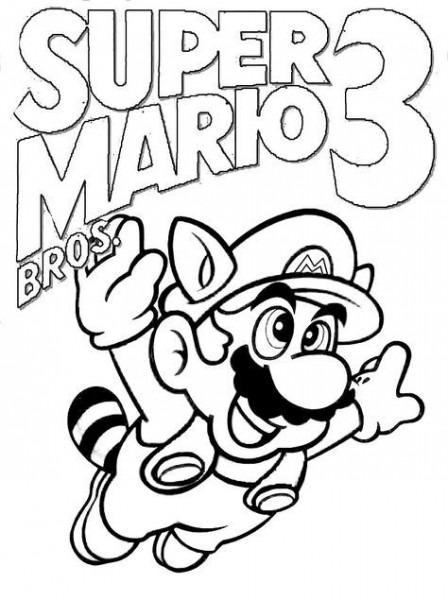 Colorear  Super Mario Bros 3