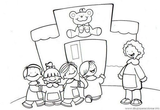 Dibujos Infantiles De Colegio