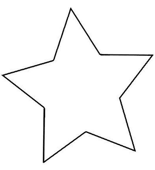 Imagenes De Estrellas Para Colorear Grandes