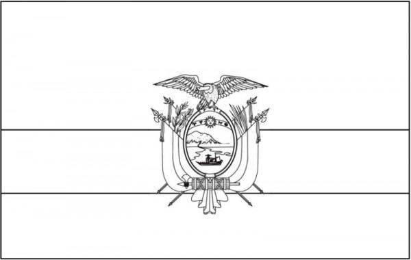▷ Símbolos Patrios Del Ecuador 🥇 Bandera