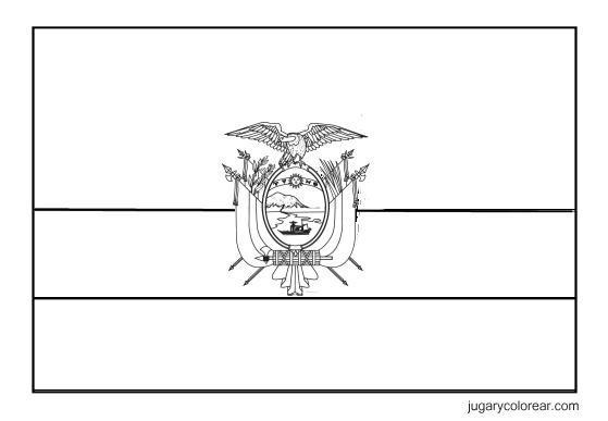 Laminas Colegiales Para Imprimir Y Recortar  Bandera Y Escudo De