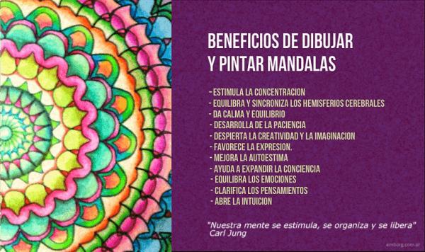 Beneficios De Pintar Mandalas