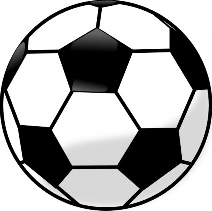 Free Download Of Negro Esquema Dibujo Fútbol Silueta Deporte