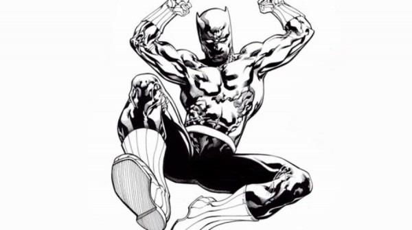 √ Dibujos Para Colorear  Pantera Negra Imprimible, Gratis