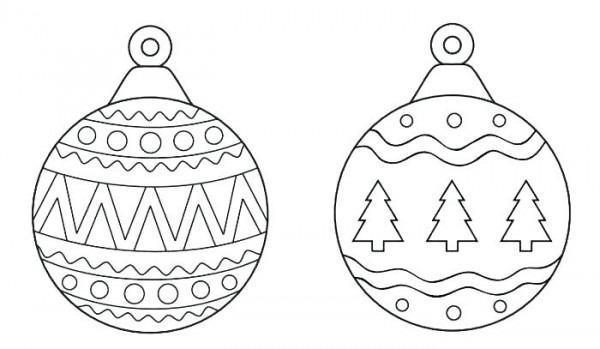 Bolas De Navidad Grandes Para Imprimir