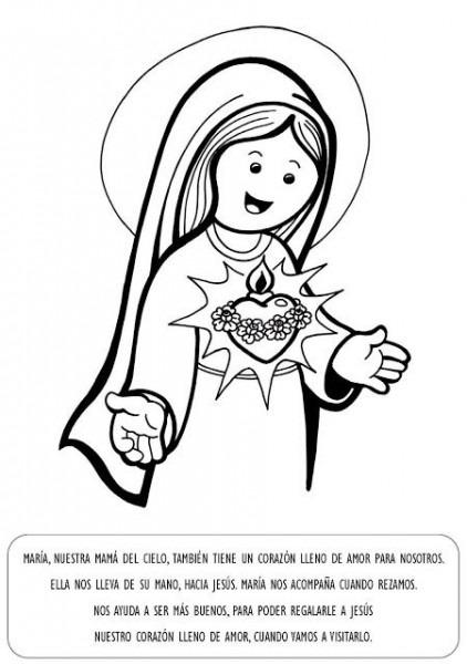 Virgen MarÍa, Ruega Por Nosotros   Virgen Maria