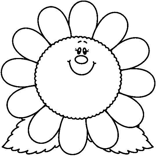 Dibujos Para Colorear  Las Flores