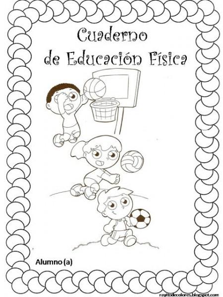 Pintando Carátulas Para Los Cuadernos Escolares