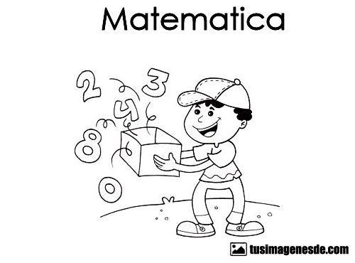 Dibujos De Ninos  Dibujos Para Caratulas De Matematicas Para Ninos