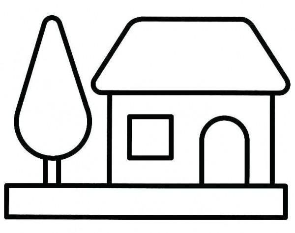 Dibujos De Casas Animadas Para Colorear