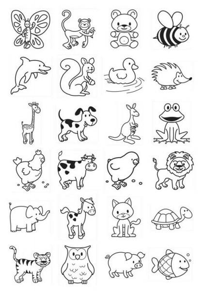 Imagenes De Animales Marinos Alimentandose Para Colorear