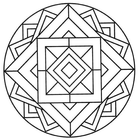 Bonitos Mandalas Para Niños  Diseños Para Colorear Y Aumentar La