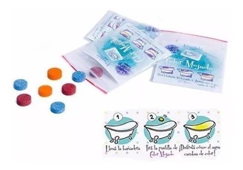 Color Mojado 3 Pastillas Para Colorear El Agua