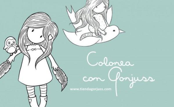 Te Encantará Colorear Con Gorjuss
