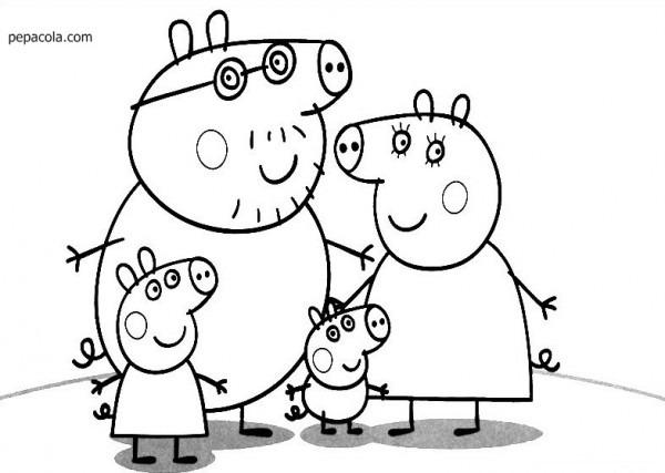 Dibujos De Peppa Pig, Las Mejores Imágenes De Peppa Pig Para