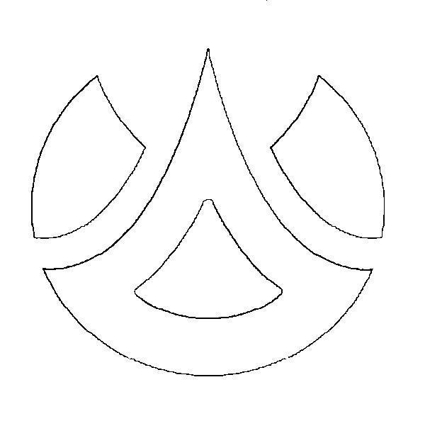 Dibujo Para Colorear Bakugan 1