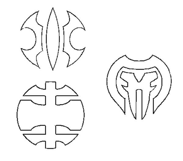 Dibujo Para Colorear Bakugan 3