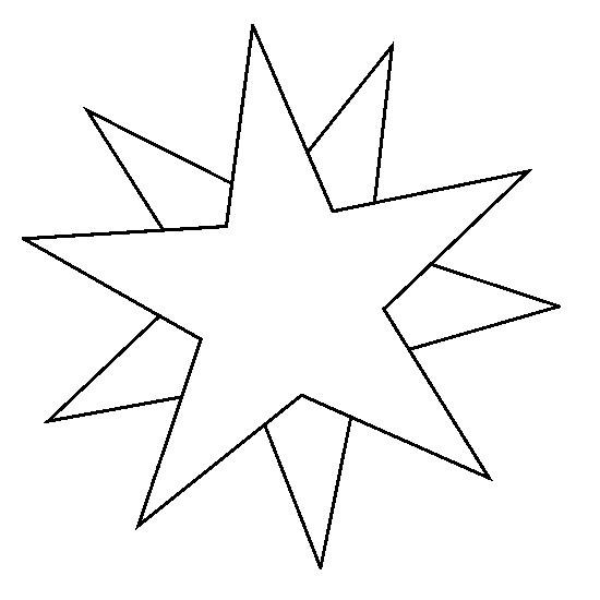 Dibujo Para Colorear Estrellas Sol Luna 1
