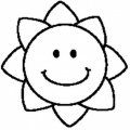 Dibujos Para Colorear Estrellas Sol Y Luna