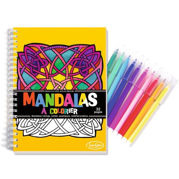 Cuaderno De Mandalas Para Colorear Con Rotuladores