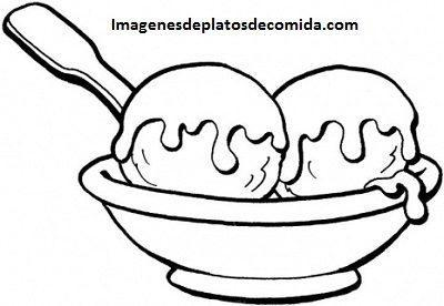 Imagenes De Alimentos Para Colorear E Imprimir