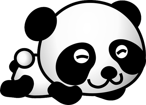 Osos Panda Para Imprimir