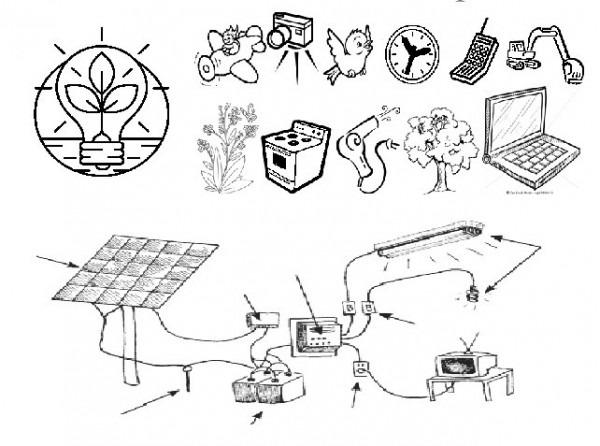 Imagenes De Energia Electrica Para Colorear , Ayuda Porfa