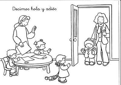 Fichas Para NiÑos  Fichas De Buenas Costumbres
