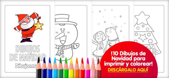 Descárgate El Libro Para Colorear De Dibujos De Navidad De Dibujos