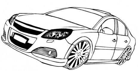 Descargar Diferentes Imágenes Con Autos Para Imprimir Y Colorear